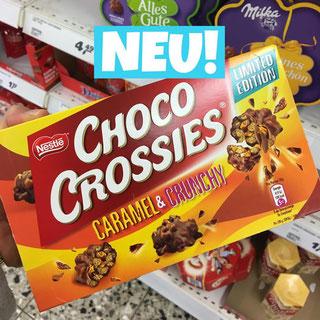 Choco Crossies Caramel & Crunchy