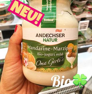 Andechser Bio Jogurt Mandarine-Marzipan