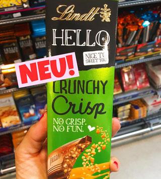 Lindt Hello Crunchy Crisp