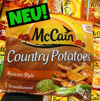 McCain Country Potatoes Mexican Style