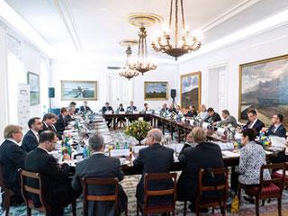 Der 168. Bergedorfer Gesprächskreis tagte in Warschau (Foto: Bartłomiej Sawka)
