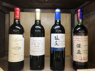 飲んだ日本のワイン