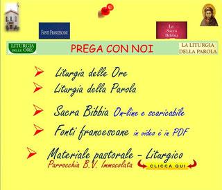CLICCA PER PREGARE
