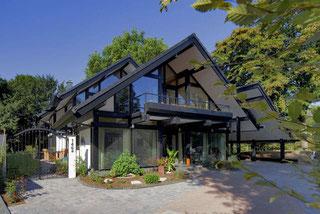 Einfamilienhaus - Holzskelettbauweise