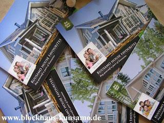 Wohnblockhäuser - Architektenhäuser - Bauträgerhäuser - Nachhaltige mnassive Blockbohlenhäuser zum ganzjährigen Wohnen - Massivholzhäuser - Typenhäuser - Holzbau - Hausbau  - Exklusive Blockhäuser zum Wohnen auch als Hanghaus oder barrierefreies Bungalow