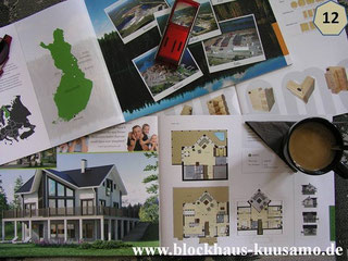 Wohnblockhaus - Blockhausentwurf  - Blockhaus Planung und Bauen
