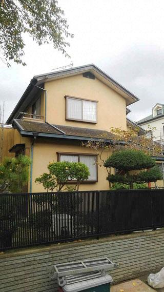 千鎌ヶ谷市中央の外壁塗装 ビフォー