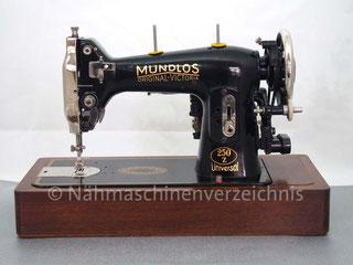 """Mundlos 250Z """"Original-Victoria"""", Zickzack, Flachbett, mit Anbaumotor, Hersteller: Mundlos AG, Magdeburg (Bilder: G. Ertl)"""