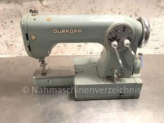 Dürkopp 1022, Freiarm Zickzack-Nähmaschine, Hersteller Dürkopp AG, Bielefeld (BIlder: I. Weinert)