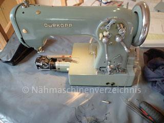 Dürkopp 1032, Freiarm Automatik-Nähmaschine, Hersteller Dürkopp AG, Bielefeld (BIlder: B. Schlappa)