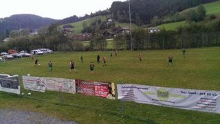 Das Fußballmatch