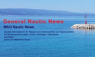 MAG General Nautic News Kroatien Rijeka Zadar Split Adria Italien Mittelmeer Nachrichten Infoormationen