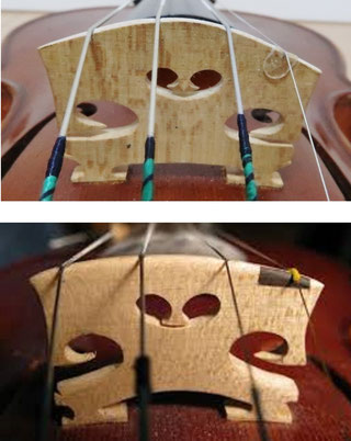 フィドル バイオリン 駒 ブリッジ