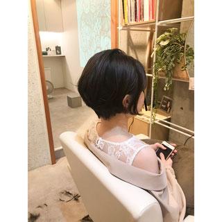 横浜 石川町 美容室 Grantus  ルネ フルトレール  元町 ヘッドスパ ショートスタイル マニッシュスタイル