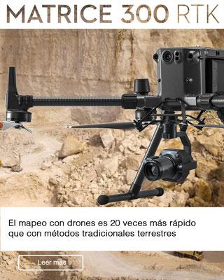 Drones para mineria - DJI Matrice 300 RTK