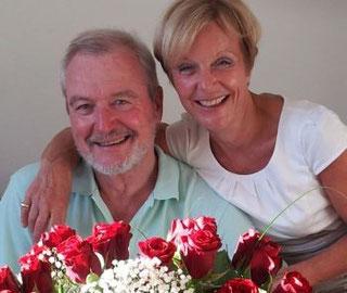 Eheleute Kristiane und Dr. Rüdiger Scheller