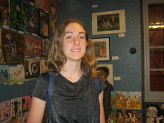 Visite de Nina Kovacevic au Musée de peinture de Saint-Frajou