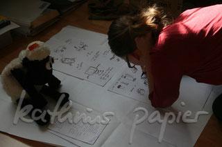 Kathrins Papier Scribbeln