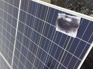 太陽光パネル汚れ