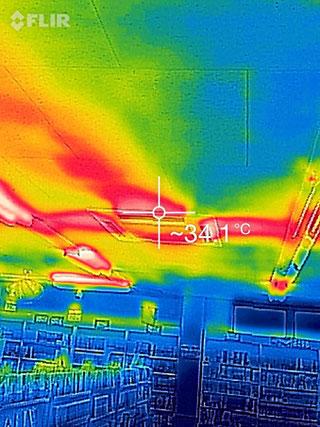 サーモ検査エアコン