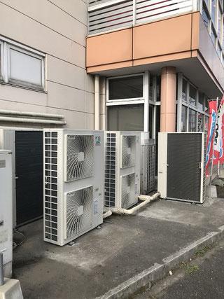 新エアコン設置