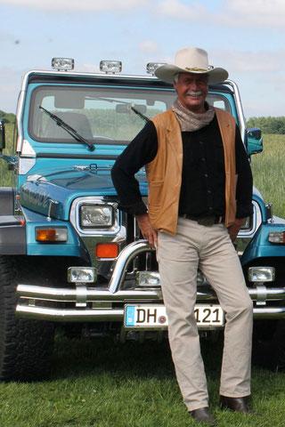 Andre Engelhardt und der Wrangler 4.0
