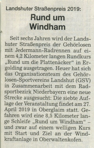 Quelle: Landshuter Zeitung 11.02.2019