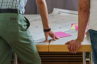 Ergänzende Services, mit dem Business Model Canvas