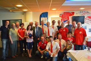 Valence fête le titre de champion de France des clubs lors de l'AG du 19 juin 2015