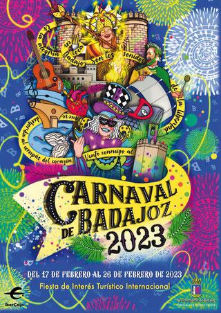 Cartel del Carnaval de Badajoz