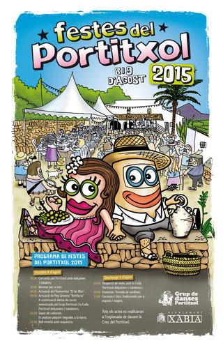 Festes del Portitxol en Xàbia - Jávea Cartel y Programa