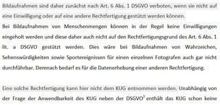 Quelle: Der Hamburgische Beauftrage für Datenschutz und Informationsfreiheit, Vermerk: Rechtliche Bewertung von Fotografien einer unüberschaubaren Anzahl von  Menschen nach der DSGVO außerhalb des Journalismus