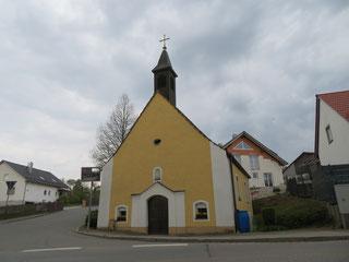 Die Kapelle von Thanhausen
