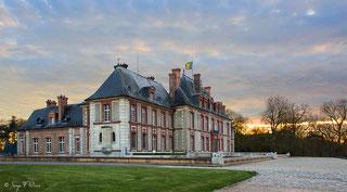 Le château de Breteuil à Choisel dans les Yvelines