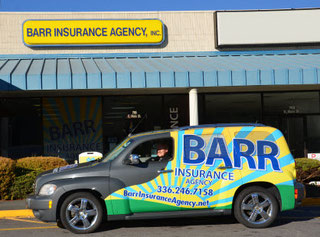 Barr Insurance Agency Storefront, Jefferson, NC