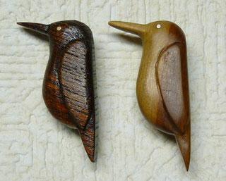 カワセミ2種