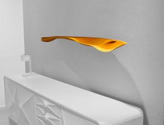 W0149 · Beech#wallshelf#woodworking#interiordesign#woodsculptures#art#woodart#wooddesign#decorativewood#walldecoration#wallsculpture#originalartwork#modernwoodsculpture#joergpietschmann#oldwood