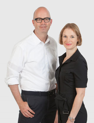 Geschäftsführer nourishme GmbH: Claudette Lucien und Olaf Hannemann