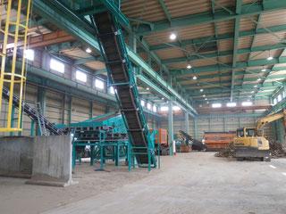 ウッドリサイクルセンター (木くず破砕施設)