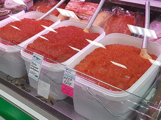 Fish market in Petropavlovsk-Kamchatsky