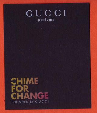 2014 - GUCCI CHIME FOR CHANGE : RECTO