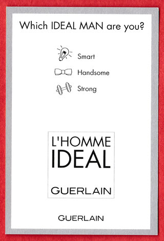 L'HOMME IDEAL COLOGNE : VERSO