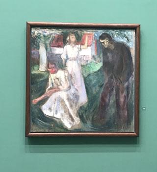 Das Leben: rechte Hälfte, 1910, Tempera auf ungrundierter Leinwand. (Foto: Yvonne Schauch)