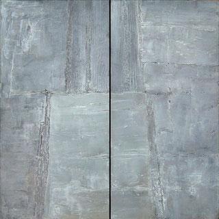 Miroir (diptyque), peinture