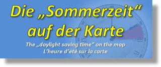 """Die """"Sommerzeit"""", Daylight Saving Time, DST"""