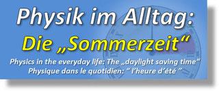 """Die """"Sommerzeit"""""""