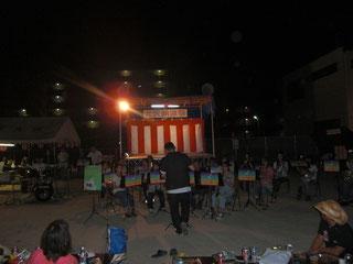 2013年8月24日(土) 平田・大沢納涼祭にて