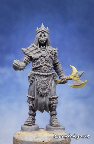 Conan, boardgame, Monolith Games, Graphigaut, Beesputty, handmade sculpture, 32mm
