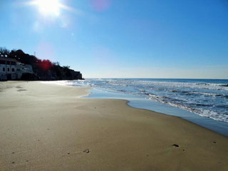 Strand in Anzio-Marechiaro