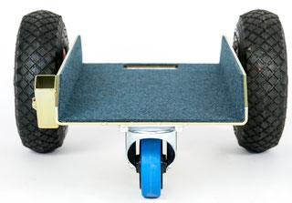 TS Allround 250 Air Glastransportwagen bis 250 kg Tragkraft und einer Nutzbreite von 255 mm transportsolution